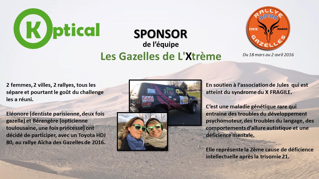 Koptical Rallye des gazelles