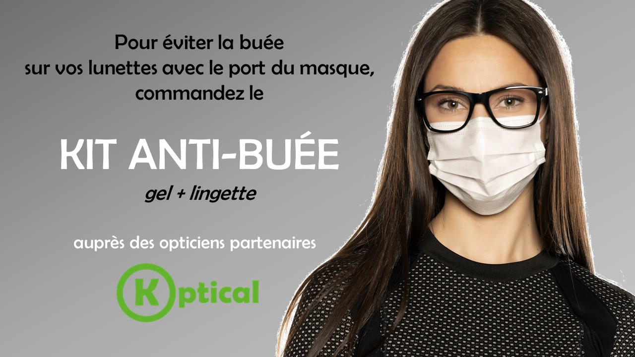 Kit anti-buée